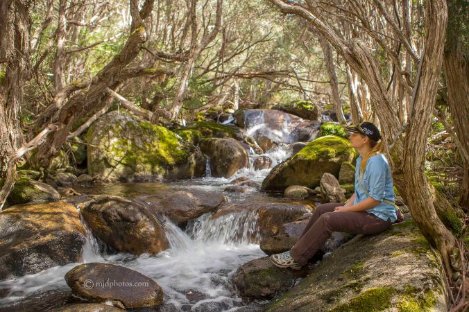 A place of relaxation by Merritts Creek at Thredbo Resort